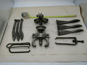 Snap on Tools Blue Point 10 1 2 3 Jaw Large Gear Puller Set Usa Free Ship