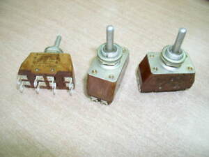 Military Russian Toggle Switch Pt2 20v Nos 3