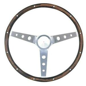 Grant 963 Classic 13 5 Inch Wood Steering Wheel W Mustang Horn Button