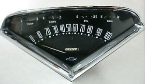 1955 1956 1957 1958 1959 Chevy Truck Speedometer Gauge Cluster Dash Assembly