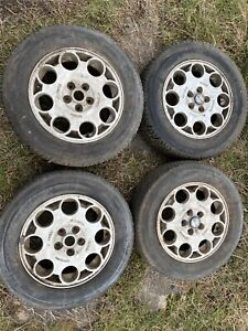 Vintage Set Of Alfa Romeo Wheels With Tires