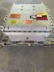 Adalet Xce 242410 n4 Explosion Proof Fire Proof Enclosure Ss 30 x30 x13