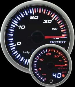 Prosport Universal 60mm Jdm Electrical Boost Gauge 30 To 40psi