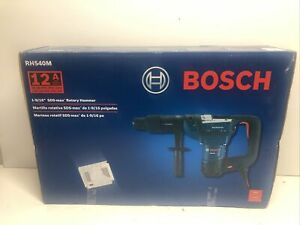 New Bosch Rh540m 1 9 16in Sds Max Combination Rotary Hammer Drill 12 Amp Corded