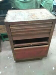 Vintage Snap On Bottom Tool Box Chest Cabinet pick Up Only