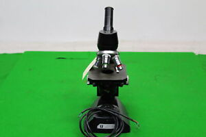 Vintage Vickers Laboratory Microscope In Great Condition Ideal For Classroom Or