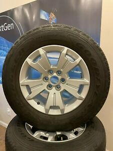 Chevy Truck 5 Spoke 17 Wheels And Tires Part 94775678