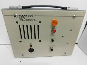 Clear com Intercom Kb 112 Speaker Station