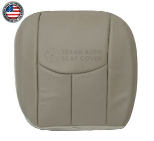 2004 2005 Cadillac Escalade Ext Esv 2nd Row Right Side Bottom Seat Cover Tan