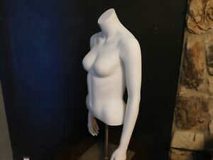 Mannequin Female Torso Ghost Mannequin Upper Body With Stand Free Shipping