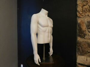 Mannequin Torso Male Ghost Mannequin With Stand Free Shipping