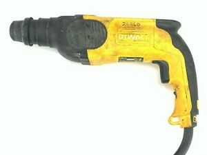 Dewalt 1 Corded Rotary Hammer Model D25101 W Hard Case 4 Lightly Used Bits
