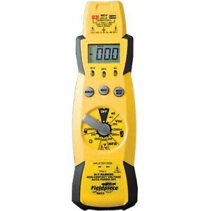 Fieldpiece Hs33 Expandable Manual Ranging Multimeter For Hvac r