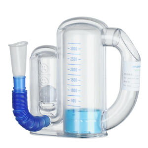 Spirometer Lung Breathing Trainer Vital Capacity Respiratory Exerciser