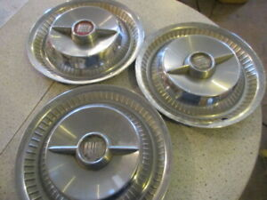 1955 Buick 15 Spinner Hubcaps Wallhanger Mancave Rat Rod