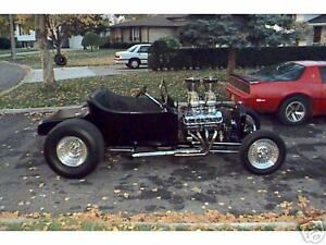 08 Street 4 Bar Rear Suspension Blueprints Coilover Air Ride Hot Rod Rat Rod