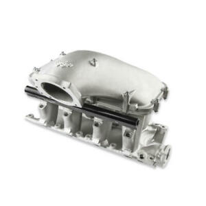 Holley Intake Manifold 300 308 Hi ram Satin Cast Aluminum For Ford 289 302 Sbf