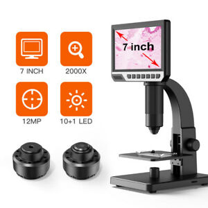 7inch Hd Usb Digital Microscope For Soldering Continuous Amplification Magnifier