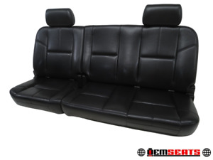Gm Silverado Sierra Extended Cab Leather Rear Seat 2008 2009 2010 2011 2012 2013