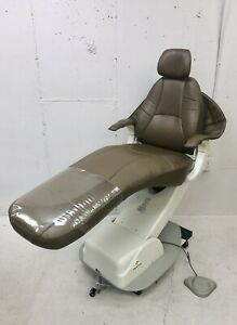 Marus Dc1690 Dental Exam Chair Ultraleather Chair Color Dark Mocha brown