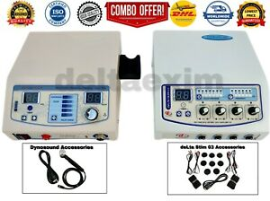New Combo Of Ultrasound Therapy Machine And 4 Channel Elctrotherpy Machine sdf