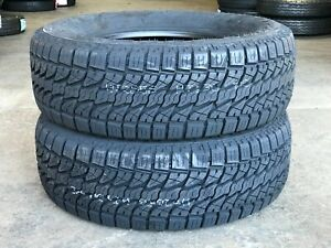 2 X New P265 70r16 Lionsport A T At All Terrain Tires 4 Ply 265 70 16 112t R16