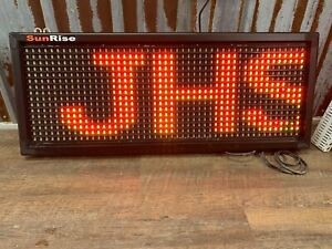 Sunrise Digital Programable Lighted Sign Fx Series