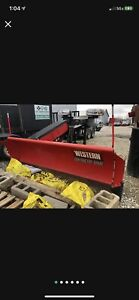 Western Pro Plus 7 5 Snow Plow With Western Wings