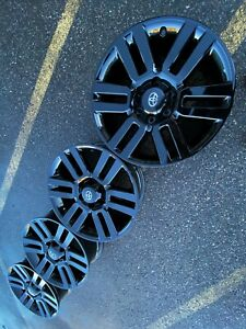 20 Toyota 4runner Tacoma Tundra Black Trd Oem Factory Stock Wheels Rims Pro 1