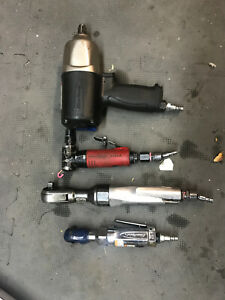 Pnuematic Tools Lot Bluepoint Snap On And Mac