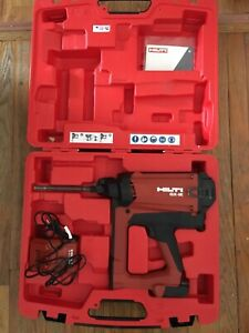 Hilti Gx ie Gas Actuated Nail Insulation Fastener Kit With Battery And Charger