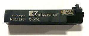 Kennametal Nel122b Top Notch Indexable Lathe Tool Holder 1097231