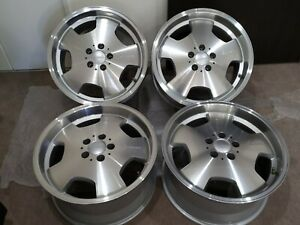 Genuine 18 Ronal For Lorinser Rs90 Mercedes R129 Sl500 W140 Sel Nos New Wheels