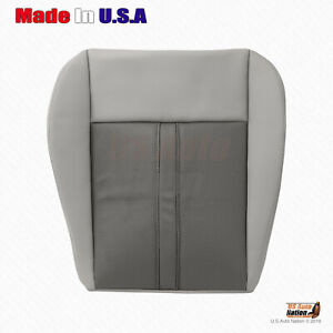 2006 2007 Jeep Grand Cherokee Limited Driver Bottom Seat Cover Cover 2 Tone Tan