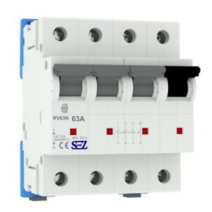Sez Main Switch 63a 4p Switch Performance Separator 3p n rv63 5598