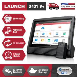 Launch X431 V Auto Diagnostic Tool Obd2 Scanner Pad Tablet Key Fob Programming
