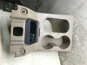 06 07 08 09 10 Ford Explorer Mountaineer Center Console Cup Holder Shifter Trim