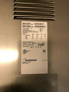 Back Panel Part A37875 001 For Scotsman Ice Machine