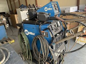 Miller Pipeworx 400 Mobile Multi process Electric Welder Dual Guns Torch Body