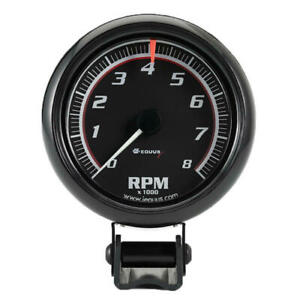 Equus 6086 Tachometer Gauge 6000 Series 0 To 8000 Rpm 2 5 8 Electric