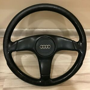 Audi 80 90 B3 B4 Coupe Cabrio S2 Typ89 Leather Steering Wheel 893419091p Italy