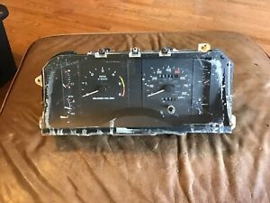 87 89 Mustang Lx 85 Mph 6 K Tach Guage Instrument Cluster