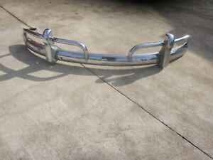 Original 1955 1967 Vw Beetle Rear Bumper And Guards