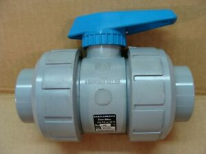 New Asahi Made In Japan 1 1 2 Inch Pvc Cpvc Duo Bloc Ball Valve