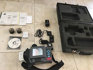 Infrared Solutions Ir Snapshot Model 517 Thermal Infrared Camera Case More