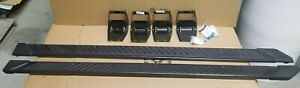 Oem 2015 2020 Ford F150 Truck Running Boards Magnetic Grey 5 Crew Cab New T Off