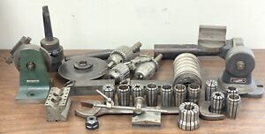 Large Lot Of Machinist Tools Grinding Fixtures Diamond Dressing Tool