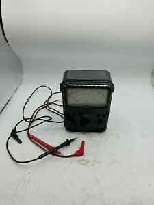 Simpson Model 260 Series 7 Volt Ohm Milliammeter With Leads And Case