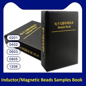 0201 0402 0603 0805 1206 Inductor magnetic Beads Samples Book Assort Kit