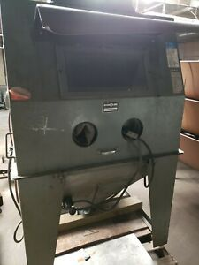 Econoline Sand Blasting Cabinet Ra 48x48 With Dust Collector